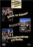 Coffret Marx Brothers 3 DVD - Soupe au canard / Plumes de cheval / L'explorateur en folie