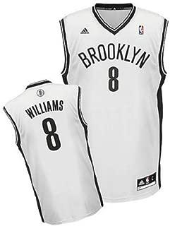 Genuine Merchandise Deron Williams # 8 Brooklyn Nets Youth Kids Size Medium White Jersey