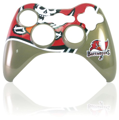 Xbox 360 Official NFL Tampa Bay Buccaneers Controller Faceplate