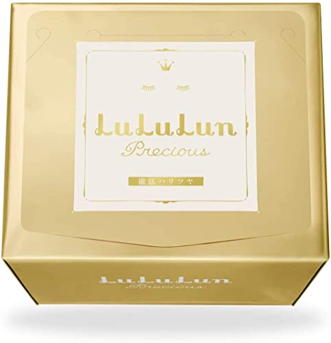 Lululun Face Sheet Masks for Dry and Sensitive Skin Facial Mask for Women from Japan Precious Shiny 32 Sheet