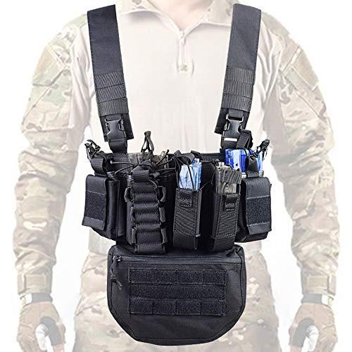 Flytise Laufübung Gewichtsweste Fitness-Tool Trainingsgeräte Sport Multifunktionales Outdoor-Feld CS Army Fan Weste mit Tasche