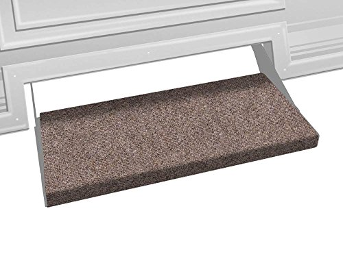 Prest-O-Fit 2-0351 Outrigger RV Step Rug Walnut Brown 23 In. Wide