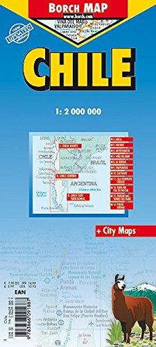 Chile: 1:2 000 000. Einzelkarten: Chile, Patagonia 1:2 000 000; Parque Nacional Torres del Paine 1:240 000; Isla Robinson Crusoe 1:200 000; Rapa Nui ... 1:20 000; Chile administrative/time zones