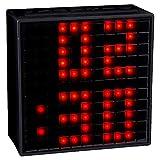 Divoom, Smart Multifunctional Bluetooth Digital Music Speakers with Alarm Clock, 5.45 x 5.45 inches, Black