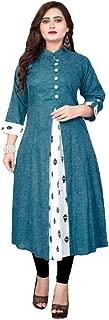 Niksa Fashion Pure Khadi Cotton Kurti