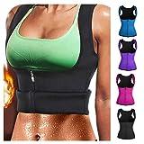 ErYao Fitness Corset Sport Body Shaper Vest Women Waist Trainer Workout Slimming (Hot Pink, XXL)