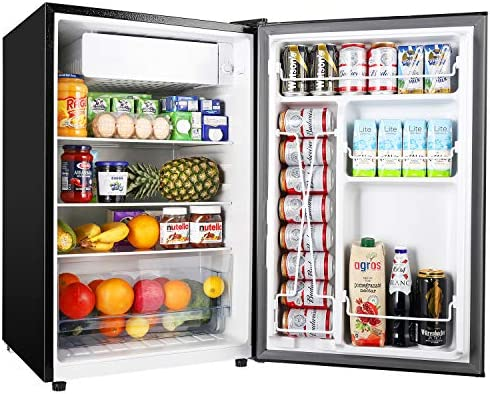 TECCPO 4 5 Cu Ft Small Refrigerator Energy Star Auto Defrost Mini Fridge with Freezer Super product image
