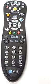 Genuine AT&T U-Verse Uverse S10-S4 Standard IR Infrared Multifunctional Digital DVR TV Remote Control (Renewed)l