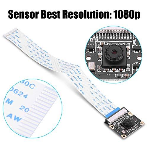 Richer-R Raspberry Pi 5MP 1080P Kamera-Modul, Infrarot-Nachtversion IR LED Modul Kamera Modul,OV5647 Sensor 5 Megapixel Nachtsicht Kamera Video Modul für Raspberry Pi