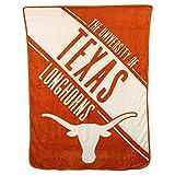 NCAA Collegiate Section Super Soft Plush Throw Blanket (Texas Longhorns)