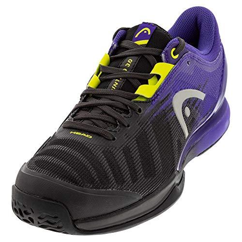 HEAD Sprint Pro 3.0 Ltd. Men Puli, Zapatillas de Tenis Hombre, Morado Lime Green, 42 EU