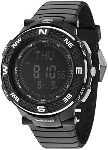 Timberland Mendon Reloj para Hombre Digital de Cuarzo con Brazalete de Silicona 15027XPB-02PA