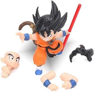 Set 8 Figuras Goku Muten Roshi tamaño 4-8 cm Chichi DRAGON BALL Yamcha