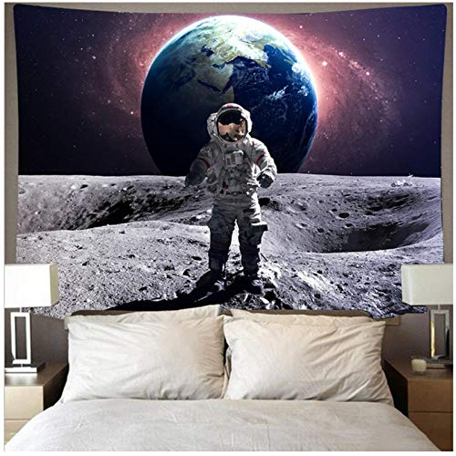 BD-Boombdl Tapestry Wall Hanging Outer Space Decoration Beach Throw Carpet Blanket Camping Tent Travel Mattress Corridor Hotel Christmas Decoration 200x150 cm