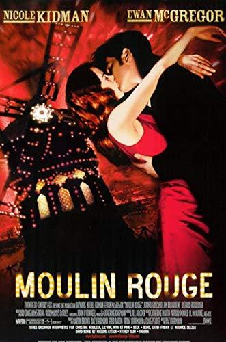 Moulin Rouge Affiche Cinéma Originale Petit Format (53x40 cm Roulée) BAZ Luhrmann Nicole Kidman