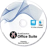 Office Suite 2021 Compatible With Microsoft Word 365 2020 2019 2016 2013 2010 2007 CD DVD Powered by Apache OpenOffice for Windows 10 8.1 8 7 Vista XP 32 64 Bit PC, macOS & Mac OS X