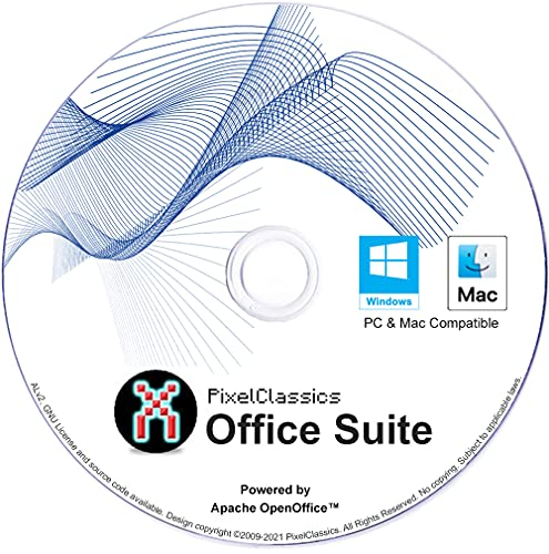 Office Suite 2021 Compatible with Microsoft Word 2019 365 2020 2019 2016 2013 2010 2007 CD Powered by Apache OpenOffice for Windows 10 8.1 8 7 Vista XP 32 64-Bit PC & Mac OS X - No Yearly Subscription