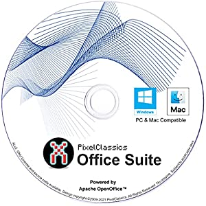 Office Suite 2021 Compatible with Microsoft Word 2019 365 2020 2016 2013 2010 2007 CD Powered by Apache OpenOffice for Windows 11 10 8.1 8 7 Vista XP 32 64-Bit PC & Mac OS X - No Yearly Subscription