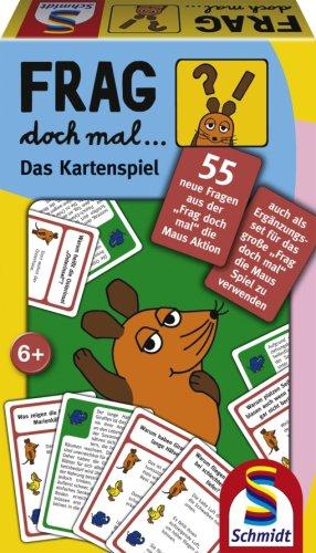 Schmidt Spiele 51139 - Frag doch mal die Maus, Das Kartenspiel