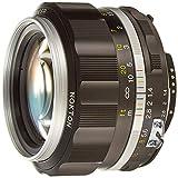 VoightLander フォクトレンダー 単焦点レンズ NOKTON 58mm F1.4 SLIIS Ai-S ニコンFマウント対応 シルバーリム 231641