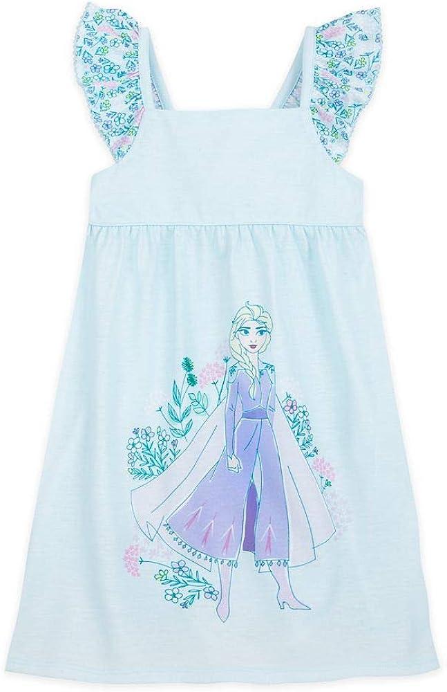 Disney Frozen 2 Elsa Nightshirt for Girls