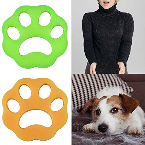 NEIJIANG 2 Pcs-Pet Hair Remover for Laundry,Dogs and Cats Hair Catcher for Washing Machine