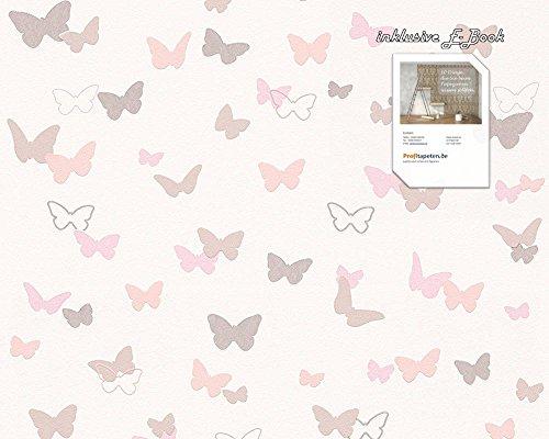 Tapete 302891 Kollektion Esprit Kids 4 inklusive E-Book, Kindertapete, Schmetterling, Butterfly 30289-1, A.S. Création Vliestapete