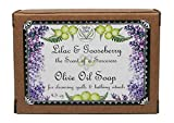 Lilac and Gooseberry Soap | 4.5 oz bar | Handmade Soap from Natural Oils| Yennefer Perfume Scent of a Sorceress by Bella Des Natural Beauty