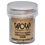 Wow Embossing Powder 15ml, Pearl Gold Sparkle