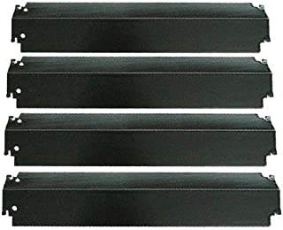 Enamel Heat Plate 4-Pack for Charbroil 463268107, 463247009, 463268007, 463244011, 463261106, 463268606, 46328706, 463248108, 463268008, 461262006, 461271108 , 463210011, G501-0008-W1 - 16 X 3 13/16