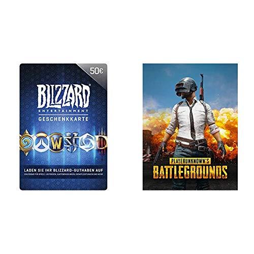 Blizzard-Geschenkkarte 50 EUR | PC Code & PLAYERUNKNOWN'S BATTLEGROUNDS [PC Code - Steam]