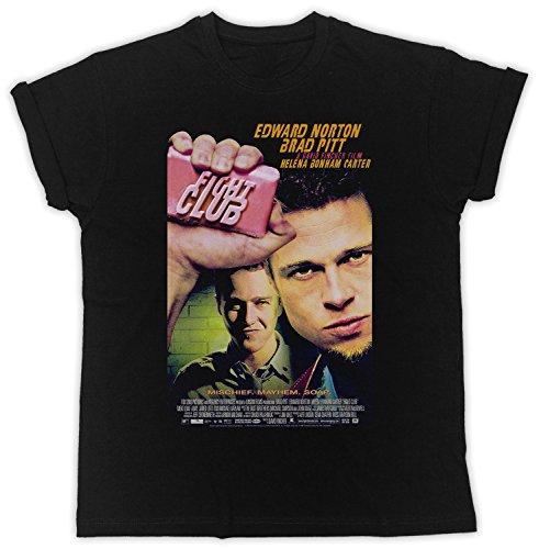 Uk print king Fight Club Brad Pitt Movie Poster Cooler Spruch, Slogan, lustiges Design, Geschenkidee