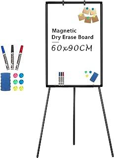 Portablocco a cavalletto 100/x 70/cm Makello lavagna magnetica treppiede altezza regolabile