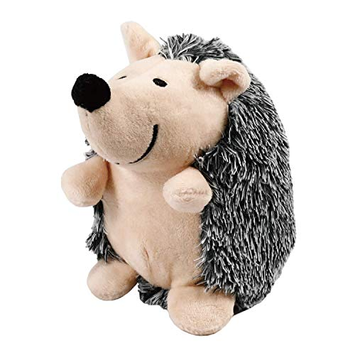 Toozey Soft Plush Squeaky Dog Toys, Cute Hedgehog Puppy Toys, Stuffed Puppy Chew Toys for Small Dogs and Puppies