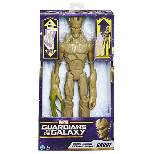 Hasbro Guardians of the Galaxy C0075EU4 - Titan Hero wachsender Groot, Actionfigur
