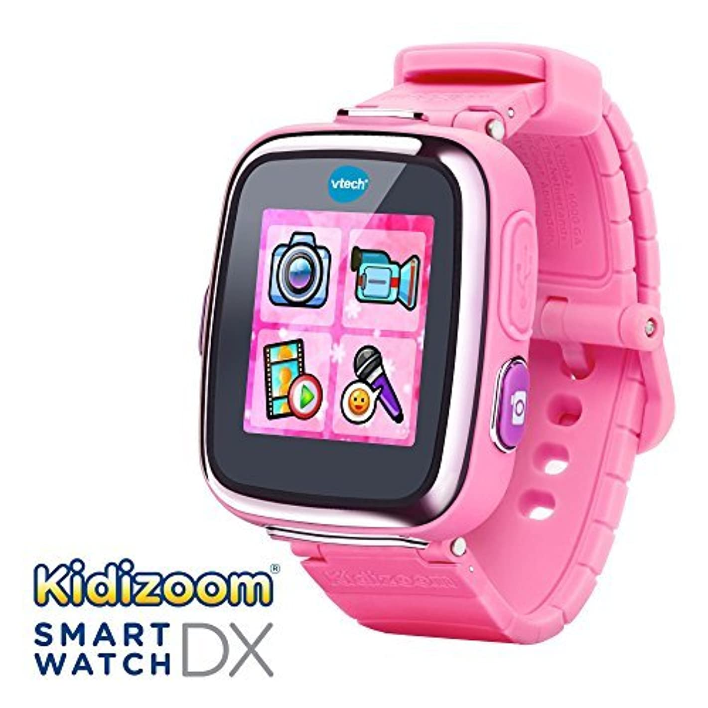 名誉ある忠実にパーセントVTech Kidizoom Smartwatch DX - Pink - Online Exclusive [並行輸入品]