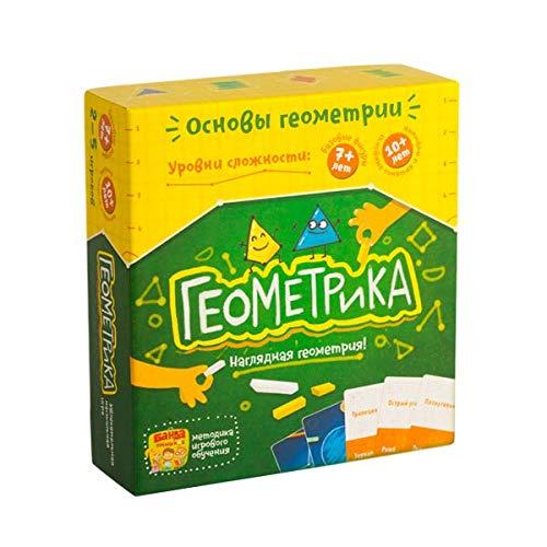 GameMetrix Russian (Geometrica) - Настольная игра «Геометрика» Banda Umnikov