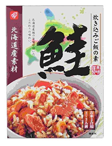 ベル食品 北海道産素材炊き込みご飯の素鮭 180g