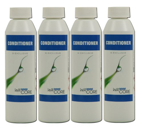 W-Exclusive Wa'core conditioner 4x 250 ml waterbedden verzorging