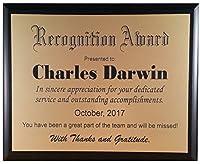 認識Plaque / Award–仕様に合わせたカスタマイズ–レーザー刻印