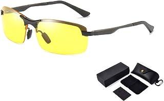 WEIJINGBEI نظارات للرؤية الليلية المضادة للوهج نظارات للرؤية الليلية سائق نظارات الرجال النظارات المستقطبة