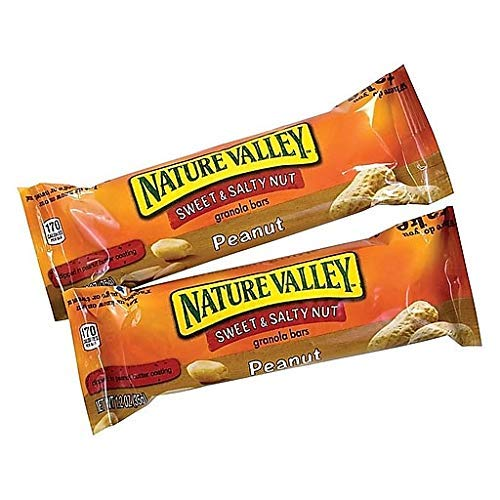 Nature Valley Sweet & Salty Granola Bars, Peanut, 1.2oz Bar, 96 Count