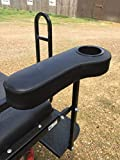 Pair of 2 Golf Cart Arm Rest Drink Cup Holder for EZGO/Club Car/Yamaha Rear Seat