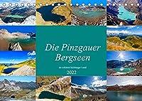 Die Pinzgauer Bergseen im schoenen Salzburger Land (Tischkalender 2022 DIN A5 quer): Schoene Bergseen im Pinzgau (Monatskalender, 14 Seiten )