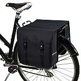 BikyBag Classic - Sacoche Double pour vélo (Noir)