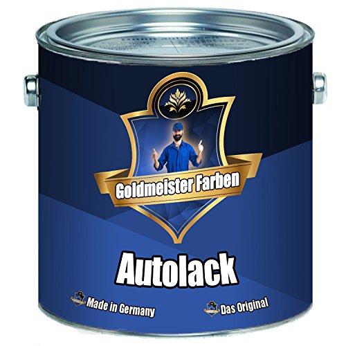 Goldmeister Farben 2 K Autolack - Grundierung und Decklack in Einem - Extrem Wiederstandsfähiger Landmaschinenlack im Set (Weiß RAL 9010, 2,5 kg)