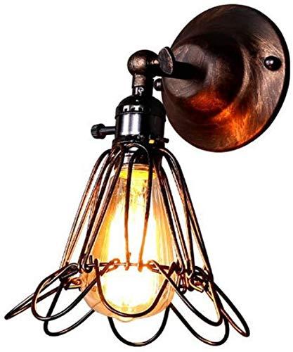 Wandlampen binnen Prikkeldraad Birdcage Retro Wandverlichting for industriële garagedeuren Living Room Bathroom Mirror