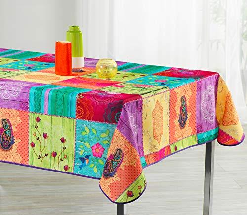 ExclusivoCIR Manteles Springie Estampados Antimanchas Colores Primaverales Decoracion Hogar (200 x 150 cm)