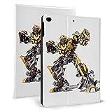 Movie Transformers Bumblebee - Funda para tablet iPad Air 1/2 de 9,7 pulgadas con función de reposo/activación automática (función atril), diseño de Bumblebee