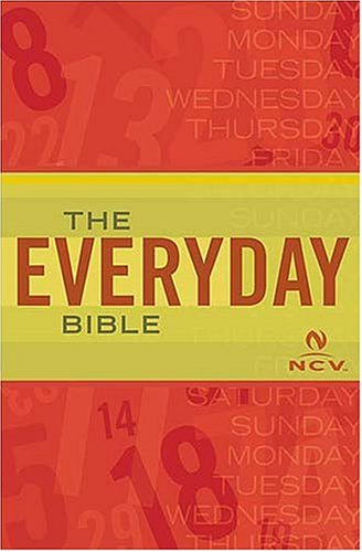 Compare Textbook Prices for The Everyday Bible New Century Version  ISBN 9780718001209 by NCV TRANSLATION